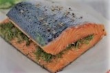 Gravlax (Dill cured salmon)