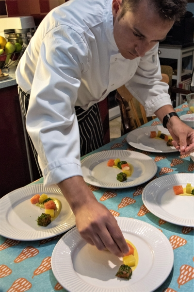 Richard Johnson our La Belle Assiette Chef
