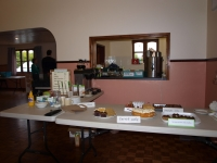 …and back to the Wyverstone community cafe on Saturday