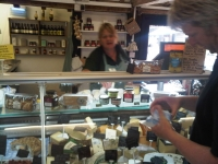 the cheese stall