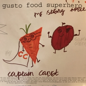 Great Gusto Food Superheroes